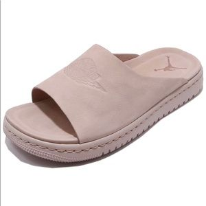NEW Women's Jordan Modero 1 Slides Particle Beige